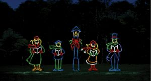 caroling lights