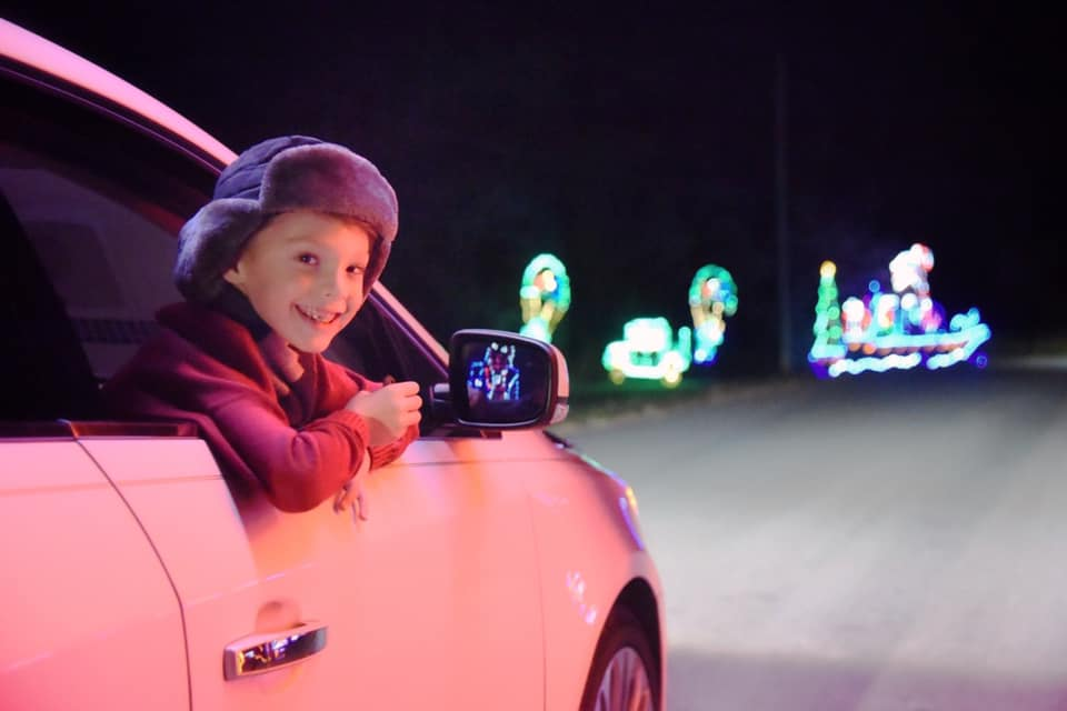 Lights of Joy Christmas Drive-Thru is fun for the entire family