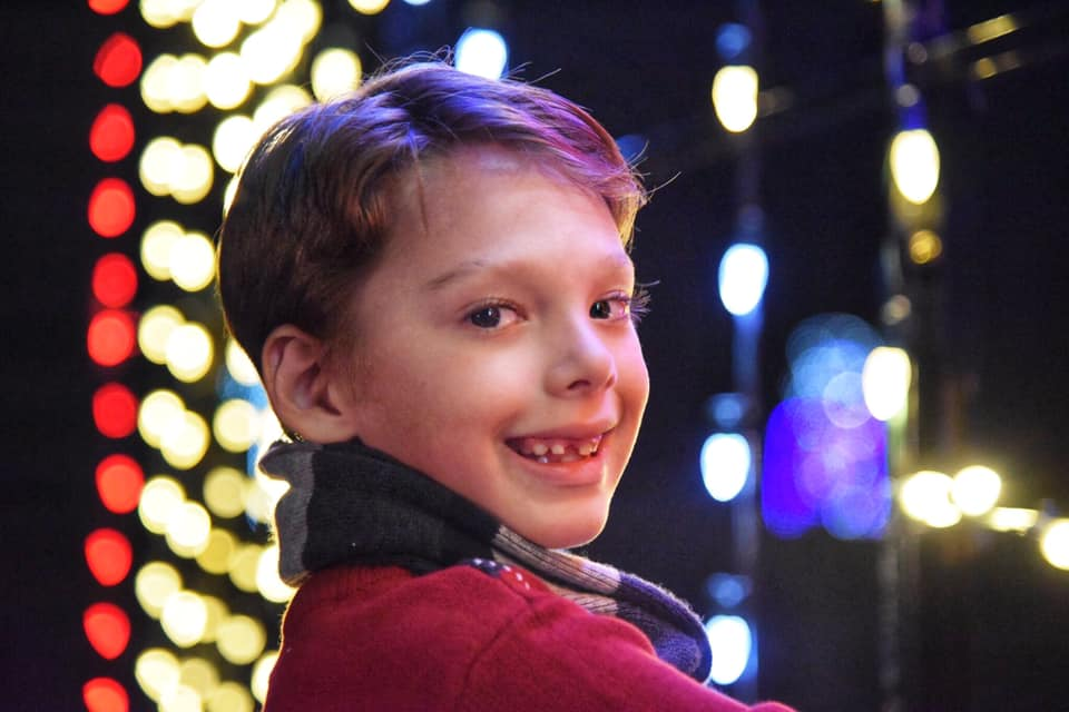 The kids will love taking selfies with Santa ant Lights of Joy