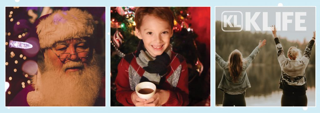 visit Santa and have hot cocoa for donation